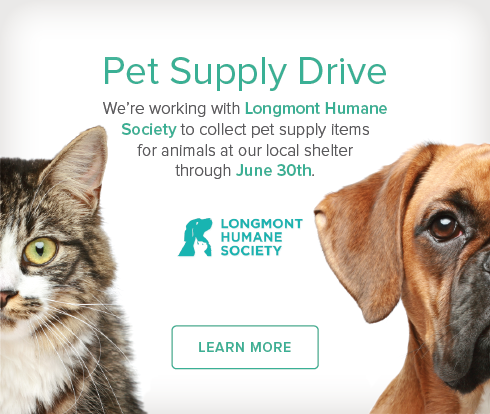 Longmont Modern Dentistry and Orthodontics - Longmont Humane Society Pet Drive